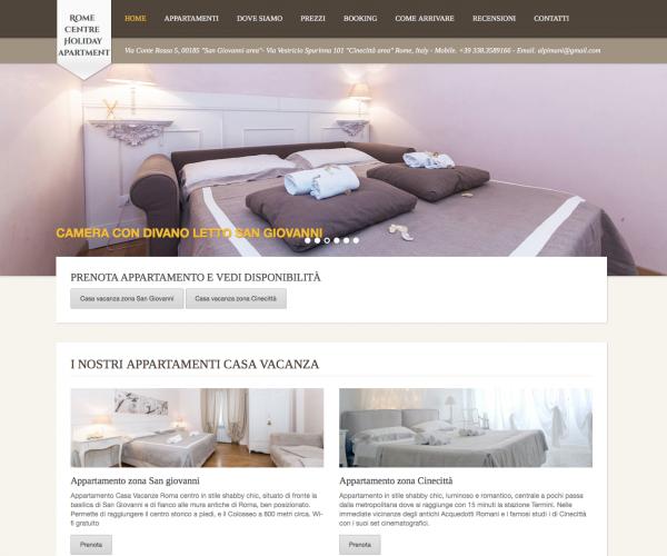 Realizzazione Siti Web Wordpress Roma4